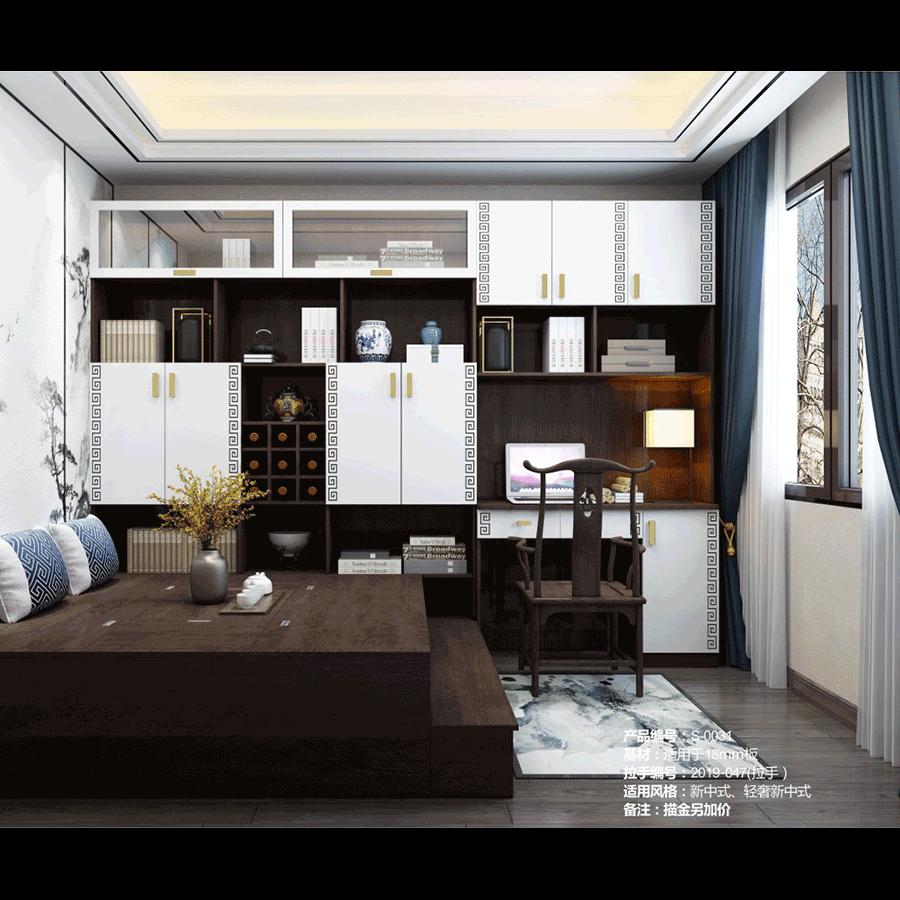 新中式风格柜体案例