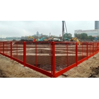 批发定制基坑隔离护栏施工临边安全防护栏黄黑建筑工地现场防护栏