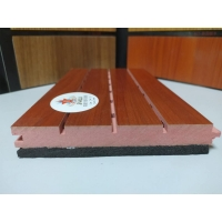 阻燃減震木飾面吸音板 減震吸音板