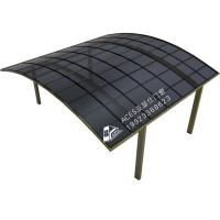 重庆铝合金雨棚车库棚停车棚家用别墅阳台露台棚耐力板遮阳防晒棚