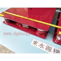 2楼机器减振垫,液压机放楼上减震垫,找东永源