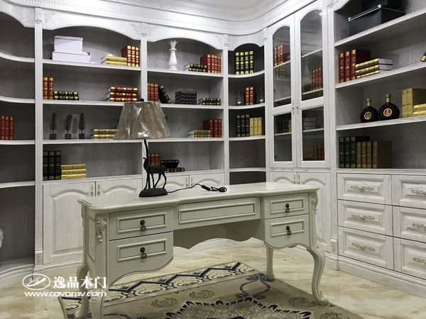 重庆逸品木门整装展示 书房
