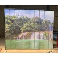 水墨画u型玻璃 夹画u型玻璃 景观墙 售楼部 优先考虑