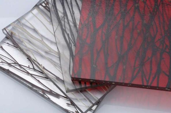 3form环保树脂板|阻燃亚克力树脂板|天然植物系列夹层树脂