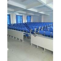 河北省胜芳镇工程塑料面阶梯教室排椅,胜芳培训桌椅,胜芳连排椅