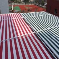 北京定做天幕篷 阳光房遮阳蓬 电动遮阳棚 双轨遮阳篷 定做