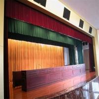 定制升降幕布 大型电动幕 舞台幕布 升降幕北京舞台幕布