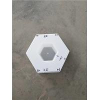 【塑料模具】混凝土空心六角护坡模具报价