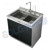 食品级304不锈钢集成水槽手工水槽90M