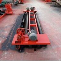 两辊轴摊铺机 可伸缩式摊平机 混凝土整平机