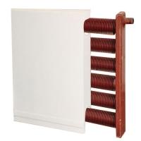 翅片管暖氣片/鋼制翅片管散熱器/SL500-6暖氣片