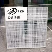 家裝藝術鋼化玻璃夾絲玻璃 定制工藝夾膠玻璃