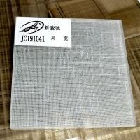 北京電視背景墻超白夾絲玻璃 藝術夾層玻璃