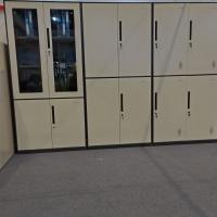 办公铁皮柜 铁皮文件柜  带密码铁皮柜
