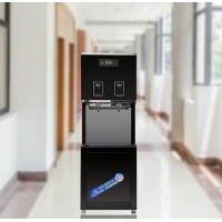 精格刷卡立式溫熱型步進式加熱校園節能飲水機