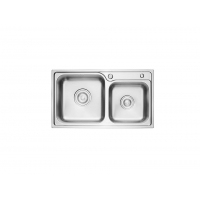 厂家邦克BK8623厨房水槽304不锈钢纳米洗菜盆家用定制