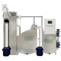 西安油脂分离器+隔油提升一体化设备