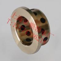 JFB固體鑲嵌翻邊無油軸承自潤滑動軸承