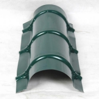 萌萧供应铝镁锰合金屋面板防风装置屋脊 折边