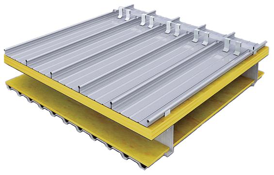 YX65-330型高立边铝镁锰合金板