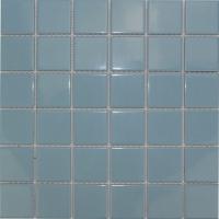 浅色泳池砖马赛克48x48mm规格