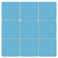 贵州群舜泳池砖九宫格游泳池瓷砖97x97mm釉面砖