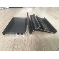 定西地区广东现货黑色橱柜免拉手铝材