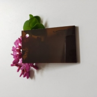 亚克力/有机玻璃茶色亚克力半透明整板加工定制雕刻零切