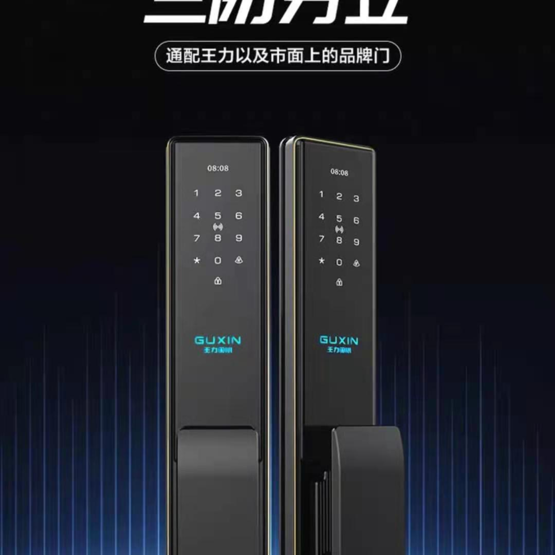 王力智能锁密码锁家用指纹锁电子锁密码门锁智能门锁ZD135