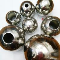 不锈钢圆球 螺丝球 开孔钢球
