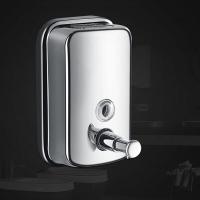 304不锈钢皂液器洗手间壁挂耐用不生锈洗手液分装盒
