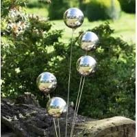 花园装饰不锈钢空心球带螺丝钢球带孔圆球
