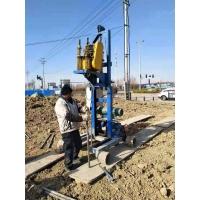 振动锤打桩机 钻杆钻机直接推进采样土壤钻机