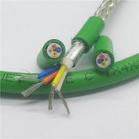 4芯綠色profinet type c高柔性工業以太網電纜
