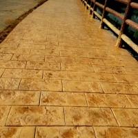 贵州压印路面材料 贵州压花地坪  贵州压模地面施工
