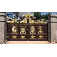 天津电动铝艺庭院门,铝艺精品选择