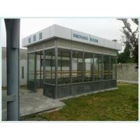 四川成都吸煙亭定制、戶外吸煙亭、不銹鋼吸煙亭