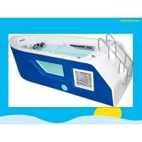 新款亚克力游泳池,玻璃视窗船型池