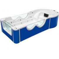 亚克力三面玻璃小滑梯池
