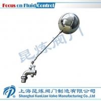 浮球阀,KL-101HL不锈钢弯管式浮球阀,上海昆炼阀门