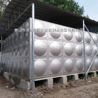 150吨不锈钢组合消防水箱 304不锈钢消防水箱