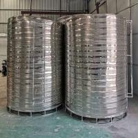 8吨空气能热泵保温水箱热水器304不锈钢水箱