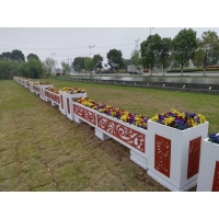 戶外廣場防腐花箱、市政道路隔離花箱、小區庭院景觀花箱