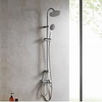 九牧挂墙式浴室卫浴花洒套装可升降淋浴柱手持淋浴喷头36384
