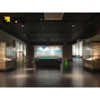 广州融润展柜定制钢化玻璃高端博物馆展示柜设计