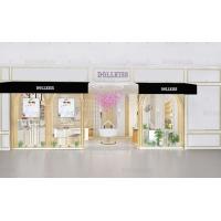 广州融润珠宝展示柜厂家 商场珠宝柜台工厂 钢化玻璃珠宝展柜