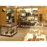 广州融润展柜定做欧式时尚钛合金专卖店手机展示柜