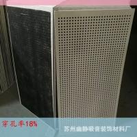 大量批發硅酸鈣穿孔板 機房墻面吸音板8mm