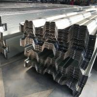 壓型鋼板可以打膨脹螺栓_山東勝博開閉口鍍鋅樓承板