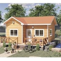 园林、农庄、民宿、景区,仿木轻钢小房子